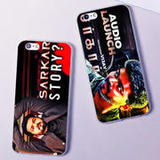 Sarkar Tamil Movie Vijay New Hard Phone Case Cover For Samsung S8 S9plus S6 S7Edge S5 For IPhone 7 6s 8plus 5s 5c X XS XR XSMAX