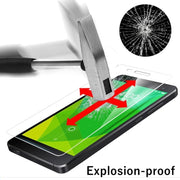 Screen Protector Film 0.3mm 9H 25D Front Premium Tempered Glass For Samsung Galaxy Mega 5.8 I9152 I9150 9152 9150 9158