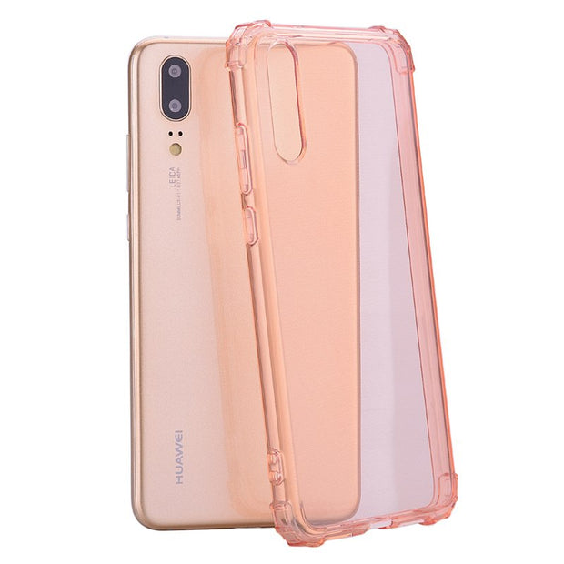 Shockproof Clear Silicone Case For Huawei P20 Lite Pro P10 P8 Lite 2017 Cover Soft TPU Cases For Huawei Mate 10 Lite Phone Cover