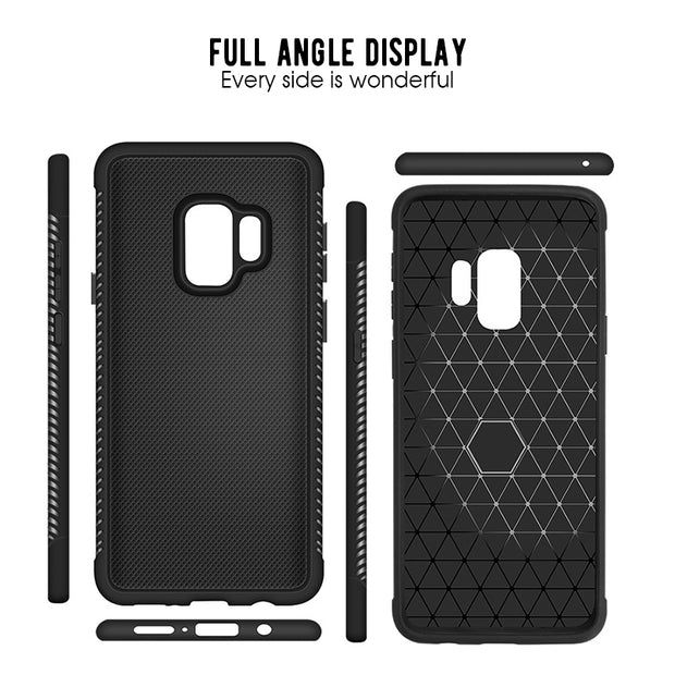 Shockproof Heat Dissipation TPU Phone Case For Samsung Galaxy A6 A8 Plus 2018 S9 S8 Plus A9 A8 Star Note 8 9 Coque Soft Cover