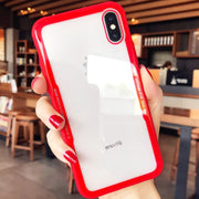 Shockproof Protective Tempered Glass Phone Case For IPhone X 5.8 XS MAX 6.5 XR 6.1 5 5S SE 6 6S 7 8 Plus Cases Capa On 7 8 Plus