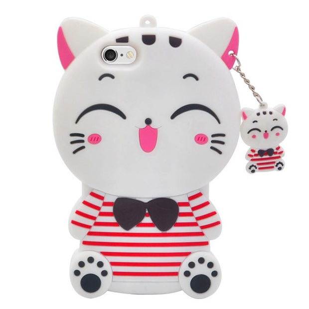 Lucky cat white
