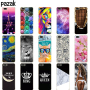 Silicone Case For Huawei Honor 7A PRO Case Huawei Y6 2018 Prime Cover Huawei Y5 2018 Prime Y9 Back Phone Cover Soft Tpu Bumper
