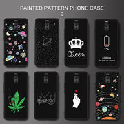 Silicone Pattern Phone Case For Meizu 16th Plus 16X X8 Note 8 Protective Back Cover Shell For Meizu M6 M5 Note M5C M5S