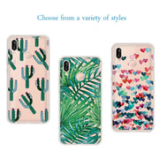 Silicone Phone Case For Huawei Mate 10 P20 Pro P9 P8 P20 P10 Lite Y6 Y5 Y3 2017 P Smart TPU Back Cover Case For Honor 10 8 Lite