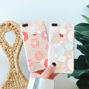 Soft Case For IPhone 6 6S 6Plus Case Cover For IPhone 7 7Plus 8Plus Flamingo Leaves Cactus Fruit Flowers Silicone Case