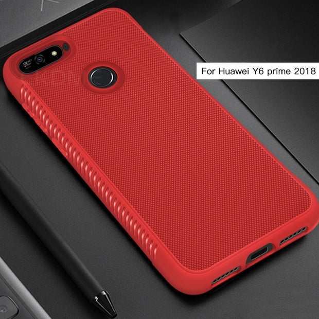 Soft Silicone Case For Huawei Y6 Y7 Prime 2018 Y9 2019 Case Full Cover Frosted TPU Case For Huawei Mate 20 Lite Mate 20 Pro Case