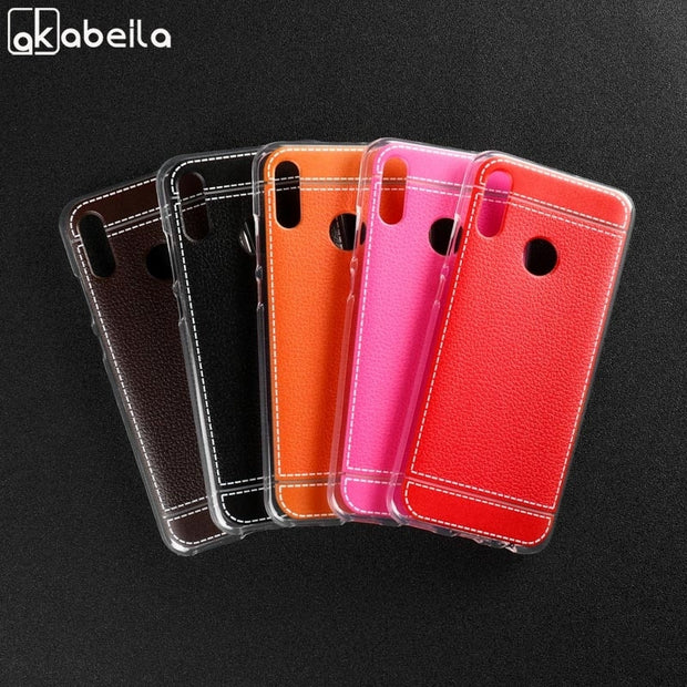 Soft Silicone Case For Huawei Honor 10 Lite Case Cover Huawei Honor 8C Back Protective Cover For Huawei P30 Bags Phone Bumper