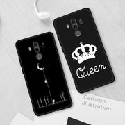 Soft TPU Case For Huawei Huawei Honor 8X Max 8C 10 9 8 Lite V9 Play Cute Pattern Painted Cover For Honor Note 10 9i Magic 2 Capa