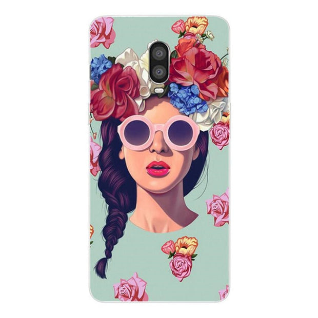 Soft TPU Case For Oneplus 6T 6.41 Case 3D Painting Silicone Back Cover Fundas For One Plus 6T Phone Cases For One Plus 6 T Coque