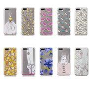 Soft TPU Case On SFor Coque Huawei Honor 7A Pro Case Fundas Huawei Y6 Prime 2018 Y6 2018 Cover Painting Clear Transparent Cases