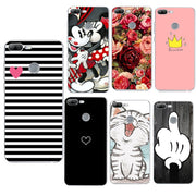 "Soft TPU Cases For Huawei Honor 7A Case 5.45"" Luxury Silicone Phone Cases Cover For Huawei Honor 9 Mate10 P20 Lite P Smart Coque"