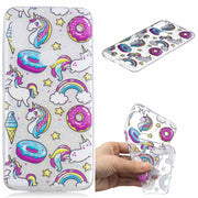 Soft TPU Cover For Xiaomi Redmi Note 6 Case Coque Transparent Cloud Unicorn Penguin Black Cat Koala Cactus Covers Cases