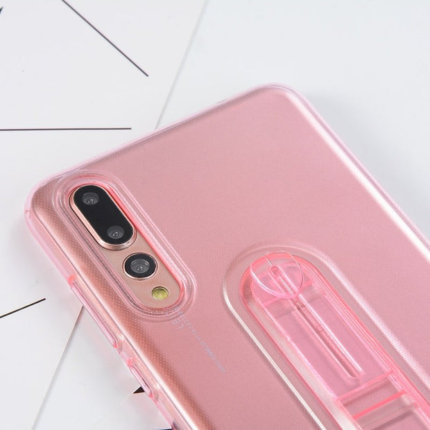 Soft Transparent Case For IPhone X XS Max XR 6 6S Plus 7 8 Plus 5 5S SE Cover Silicone Holder Bumper Shell Fitted Cases