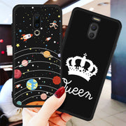 Space Moon Astronaut Phone Case For Meizu M5 M6 Note M6S M5C 16 16th Soft Silicone Coque For Meizu 16 16th Cover Fundas