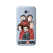 Spain TV La Casa De Papel Soft Silicone Phone Case For Samsung Galaxy S6 S7 Edge S8 S9 Plus NOTE 9 NOTE 8 Phone Case Cover