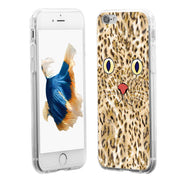 Stylish Cartoon Cat Face Phone Case Cover For IPhone 6 6S