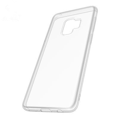 Suitable For Samsung S7 Mobile Phone Case Tpu Protective Cover S9 New Transparent Soft Shell Embossed Mobile Phone Case NOTE8