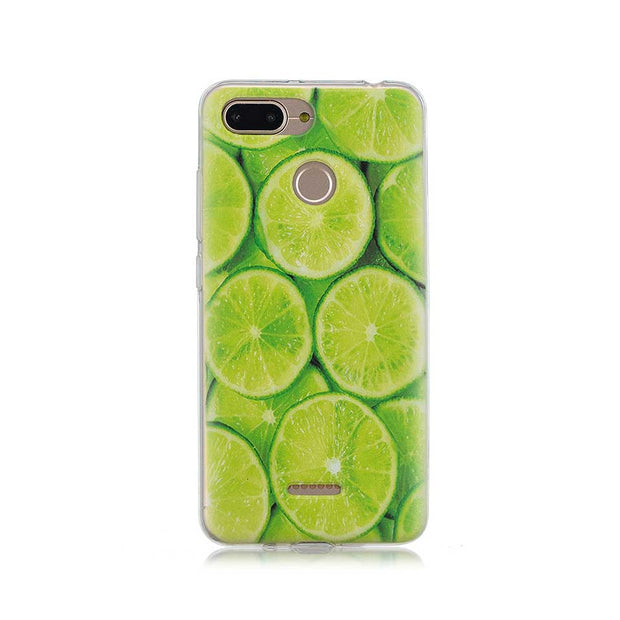 Summer Green Leaves Cover Cases For Redmi 4A 5 5A 6 6A TPU Phone Case For Xiaomi 6 5X Coque Funda For Redmi Note 4 4X 5 5A Capa