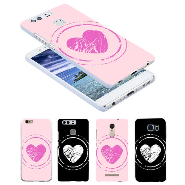 Sweet Heart Case Cover For Huawei P9 For IPhone 7 For Samsung Galaxy S7 For Xiaomi Redmi