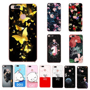 Sweet Lovers Printed Soft Silicon TPU Phone Case For Xiaomi Mi 5X A1Fashion Chic Back Case Cover Coque For Xiaomi Mi A1 5X 5.5''