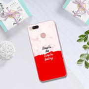 Sweet Lovers Printed Soft Silicon TPU Phone Case For Xiaomi Mi 5X Fashion Chic Back Case Cover Coque For Xiaomi Mi 5X 5.5''