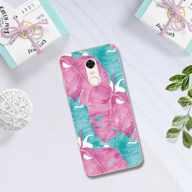 Sweet Lovers Printed Soft Silicon TPU Phone Case For Xiaomi Redmi 5 Plus Chic Case Cover Coque For Xiaomi Redmi 5 Plus 5.5''