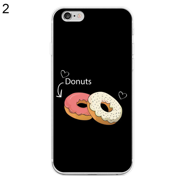 Sweet Snacks Donut Phone Case Cover For IPhone 6 7 7 Plus