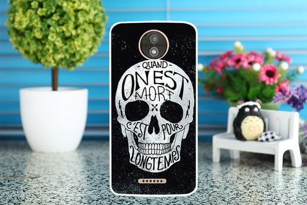 TAOYUNXI Soft TUP Captain Painted Cases Covers For Motorola