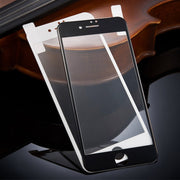 THREE-DIAO 9H Carbon Fiber 3D Tempered Glass For IPhone 6 6S Plus 7 8 Plus X XS XR XS MAX Screen Protector Protective Film