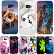 TPU Case For Samsung Galaxy A3 2017 Case Soft Silicon Cover For Samsung A3 2017 Case Cover For Samsung A3 2017 Cover Fundas Capa