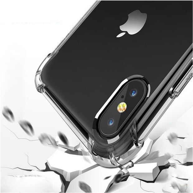 TPU Case For IPhone XS Max Soft Case Clear Thin Cases For IPhone XS MAX XR X 7 PLUS 8 6S Case Crystal Silicone Cover Bags