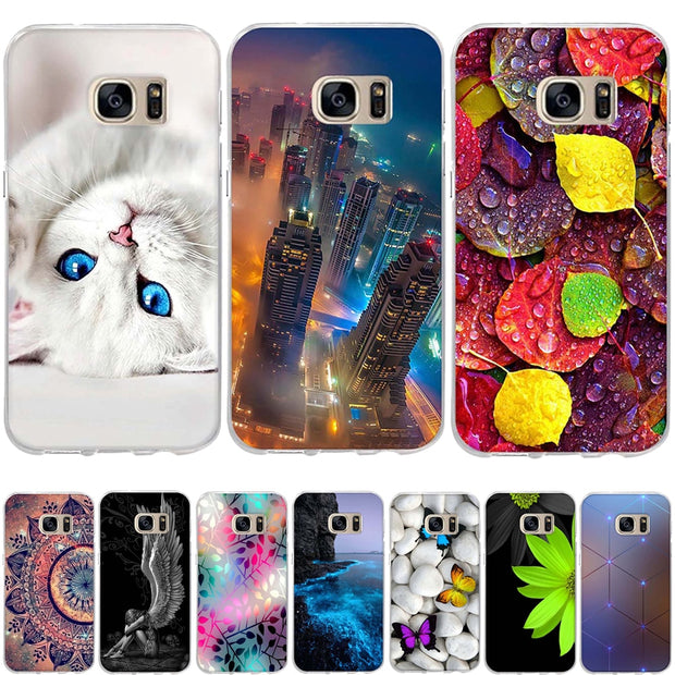 TPU Case For Samsung Galaxy S7 Case Silicone Cover For Samsung Galaxy S7 Cover Soft Coque For Samsung S7 G9300 Cases Capa Fundas
