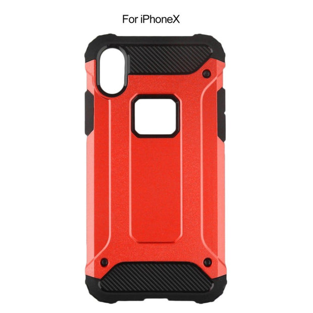 TPU PC Plastic Ultra Thin Protective Case Dust-proof Mobile Phone Back Cover Shell Shockproof Scrape Resistance For IPhoneX