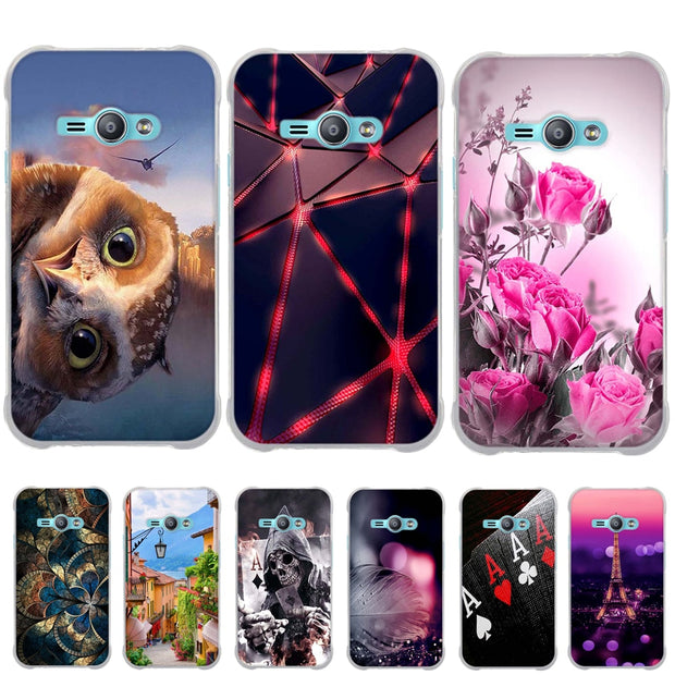 TPU Soft Back Cover For Samsung Galaxy J1 Ace J110 J110F J110h J1ACE Phone  Case For Galaxy J110L J111F Mobiel Phone Case