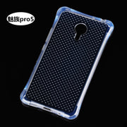 TPU Transparent Arc Design Case Cover For Meizu MX5 Pro Anti Knock Shock Proof Mobile Phone Shell/Bag Capa De Celular