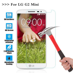 (TaiRuiXing) Screen Protector Film 0.3mm 9H 25D Front Premium Tempered Glass For LG G2 Mini D620 D618 Cover