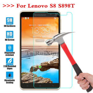 (TaiRuiXing) Screen Protector Film 0.3mm 9H 25D Front Premium Tempered Glass For Lenovo S8 S898T S 8 Cover