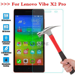(TaiRuiXing) Screen Protector Film 0.3mm 9H 25D Front Premium Tempered Glass For Lenovo VIBE X2 Pro (5.3inch) Cover