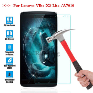 (TaiRuiXing) Screen Protector Film 0.3mm 9H 25D Front Premium Tempered Glass For Lenovo Vibe X3 Lite A7010 Lenovo K4 Note Cover