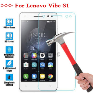 (TaiRuiXing) Screen Protector Film 0.3mm 9H 25D Front Premium Tempered Glass For Lenovo Vibe S1 S1a40 S1c50 5.0 Inch Cover