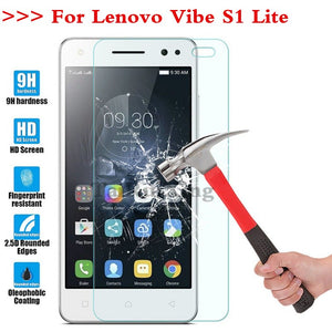 (TaiRuiXing) Screen Protector Film 0.3mm 9H 25D Front Premium Tempered Glass For Lenovo Vibe S1 Lite 5.0 Inch Cover
