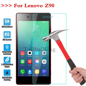(TaiRuiXing) Screen Protector Film 0.3mm 9H 25D Front Premium Tempered Glass For Lenovo Vibe Z90 Cover