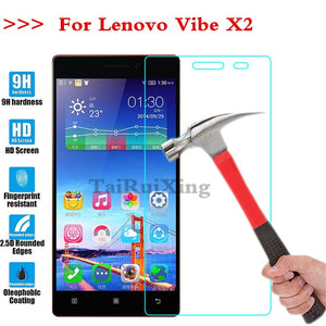 (TaiRuiXing) Screen Protector Film 0.3mm 9H 25D Front Premium Tempered Glass For Lenovo Vibe X2 Cover