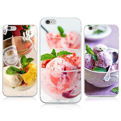 Tasty Ice Cream Case Cover For IPhone 4 5 5C 6 7