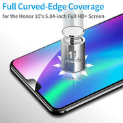 Tempered Glass For Huawei Honor 10 Screen Protector Case For Honor P Smart 9 10 Lite 8 6C Pro 6X 7X 9i V9 V10 Full Cover Film