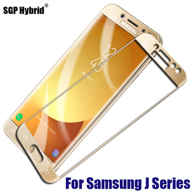 Tempered Glass For Samsung J2 2018 J7 J5 J3 2017 EU Full Cover Screen Protector For Samsung Galaxy J7 J5 J3 2016 Protective Film
