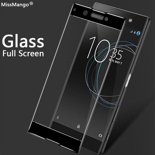Tempered Glass For Sony Xperia XA1 Screen Protector Case For X XP XA XA2 XA1 Ultra Plus XZ Premium XZ1 XZ2 Compact XZS XC Film