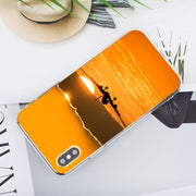 Transparent Soft Silicone Phone Case Aircraft Plane Airplane Aeroplane For IPhone XS X XR Max 8 7 6 6S Plus 5 5S SE Phone Bag