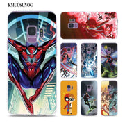 Transparent Soft Silicone Phone Case All Different Avengers For Samsung Galaxy Note 9 8 S9 S8 Plus S7 S6 Edge S5 S4 Mini